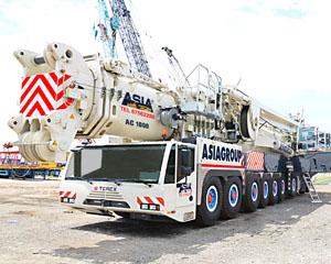 Terex AC1000 - 1,200 tonne All Terrain Crane